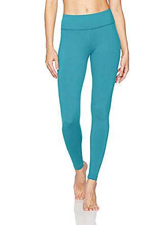 18f757bd81 Danskin Signature Wide Waist Yoga Ankle Legging, Blue Moon, Medium