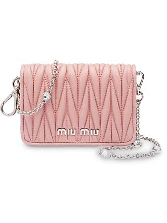 522ed5147dda Miu Miu Matelassé mini shoulder bag - Pink
