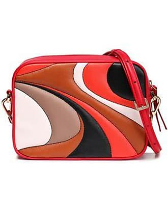 Emilio Pucci Emilio Pucci Woman Quilted Leather Shoulder Bag Red Size
