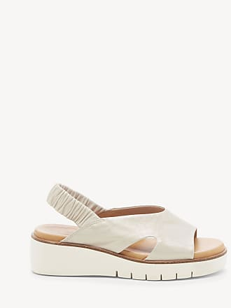 06cf8a0ebc0 Corso Como Womens Bonyce Slingback Wedges Ivory Size 10 Leather From Sole  Society