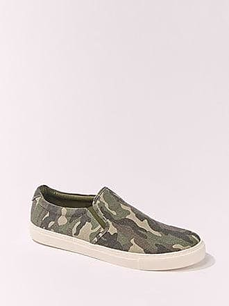 21 Men Mens Camo Print Slip-Ons at Forever 21 Olive/brown