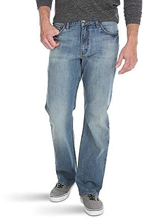 Wrangler Authentics Mens Relaxed Fit Boot Cut Jean, Riptide, 32x34