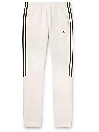 19ddc7d0167 adidas Originals Radkin Tapered Slim-fit Mélange Fleece-back Cotton-blend  Jersey Sweatpants