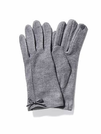 Forever New Bianca Bow Gloves - Grey - 00