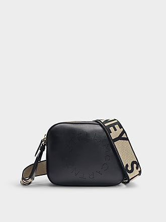 Stella McCartney Stella Logo Mini Camera Bag in Black Alter Nappa 42796261984b2