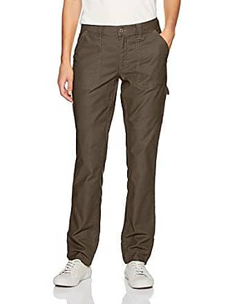 Dickies Womens Heritage Collection Duck Carpenter Pant, Stonewashed Moss, 14