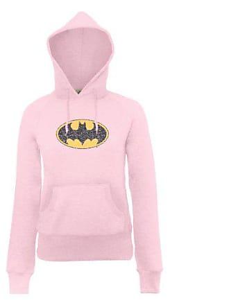 DC Comics Damen Kapuzenpullover Official Batman Gloss Logo Womens Hooded  Sweatshirt 3f6bb3504e