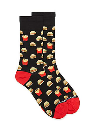 Unsimply Stitched Cheeseburger and fries socks