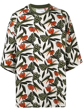 Yoshiokubo oversized aloha T-shirt - Multicolour