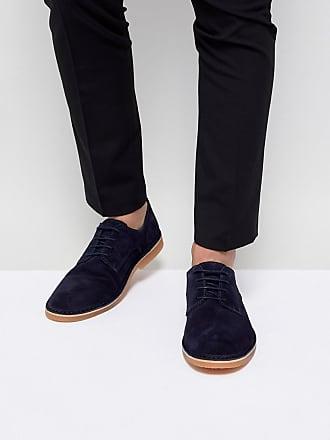 Selected Selected - Homme - Derby-Schuhe aus Wildleder - Navy 566ca0173d