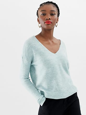 Jacqueline de Yong v neck sweater - Green