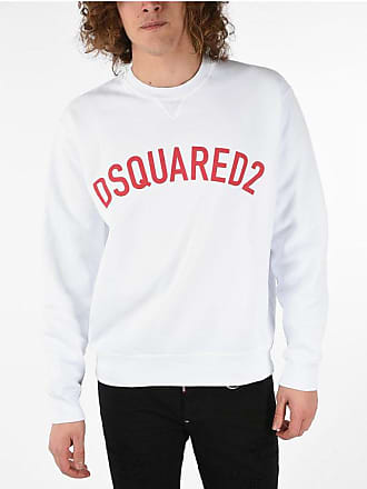 Dsquared2 Round Necked Sweatshirt with Print Größe Xl