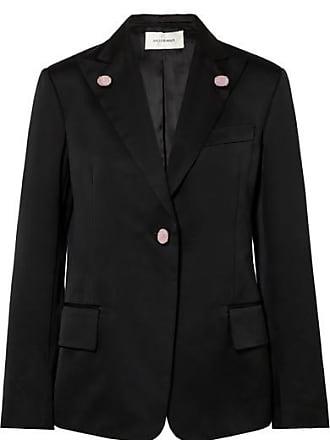 Wales Bonner Holkar Embellished Cotton-blend Blazer - Black