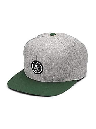 7bdc3a87 Volcom Mens Quarter Twill Hat, Evergreen, One Size Fits All