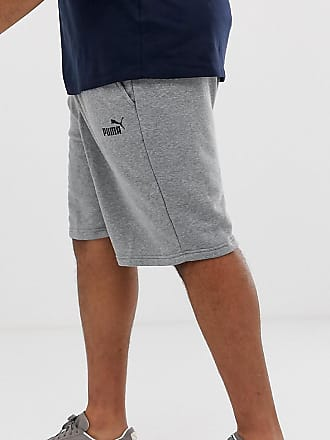 b0bc405972e Puma Plus Essentials logo shorts in grey