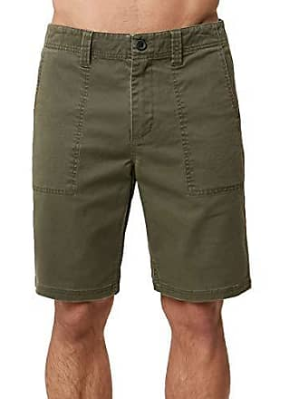 a4faba1979 O'Neill Mens 20 Inch Outseam Classic Walk Short, Military Green 34