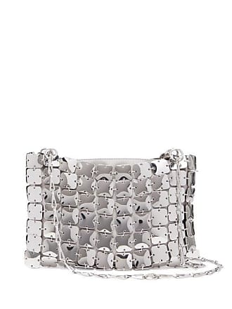 Paco Rabanne Square 1969 Chain Shoulder Bag - Womens - Silver