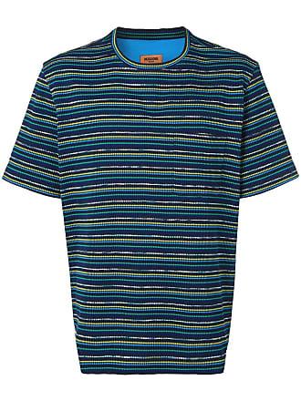 Missoni striped jacquard T-shirt - Azul