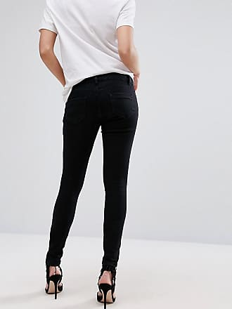 2ff15d5199 Asos Maternity ASOS DESIGN Maternity Ridley high waisted skinny jeans in  clean black with over the