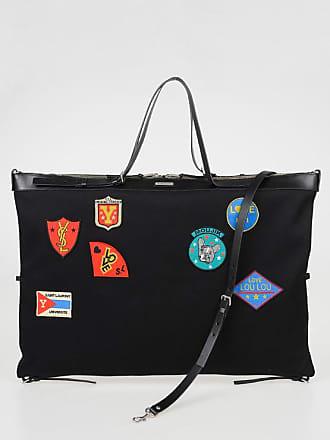 d22ac236c3 Saint Laurent Cotton FLAT SHOP Maxi Bag with Patches size Unica