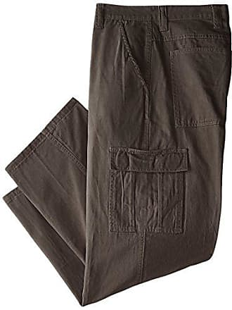 f40f331bedbfa2 Wrangler Authentics Mens Big & Tall Classic Twill Relaxed Fit Cargo Pant,  Olive Drab,