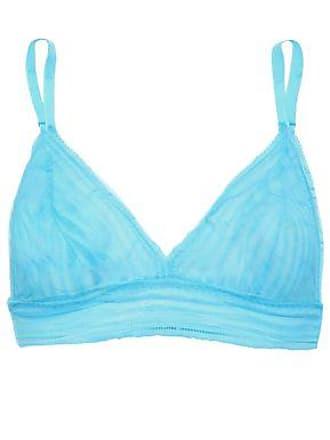 7039c7f2a8c2c Cosabella Cosabella Woman Sweet Treats Stretch-lace Bralette Sky Blue Size S