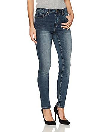 e8f0ab7fb20b0 Tribal Womens 5 Pocket Skinny Knit Denim Jegging, Medium Wash, 12