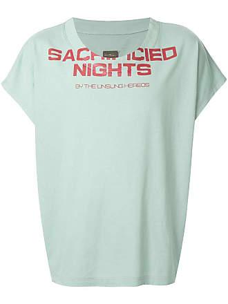 Necessity Sense Camiseta com estampa contrastante - Verde