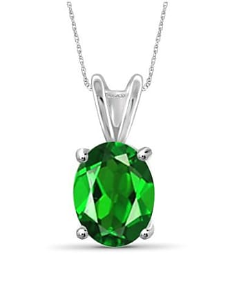JewelersClub JewelersClub 1.55 Carat T.G.W. Chrome Diopside Gemstone Pendant