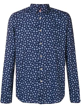Paul Smith Camisa com estampa - Azul