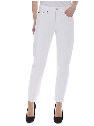 Ralph Lauren White boyfriend jeans