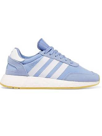 adidas Originals I-5293 Sneakers Aus Stretch-mesh Mit Velourslederbesatz -  Blau 8a8756d0ad