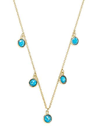 Gorjana Olivia Necklace in Metallic Gold