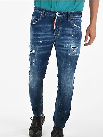 Dsquared2 16cm Distressed and Printed SKATER Jeans Größe 46