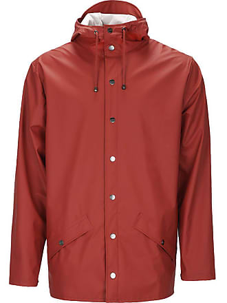 Rains Rains Waterproof Jacket   Scarlet   XS/S
