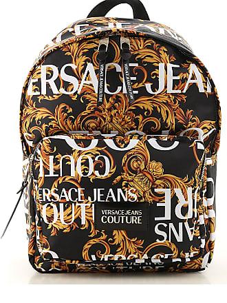 Versace Jeans Couture Mochila para Hombre, Negro, Nailón, 2017, one size