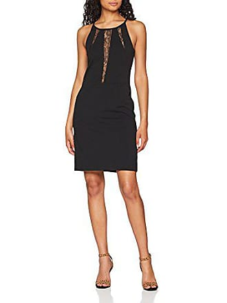 e1fa7c0bcd1 Morgan 182-RAYNA.N Robe Femme Noir (Noir 100) 40 (Taille