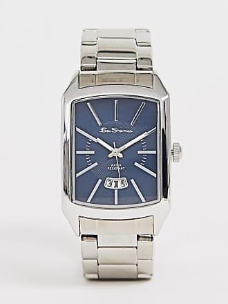 ca519ed52a5 Ben Sherman Montre-bracelet homme à cadran carré - R790A - Argenté