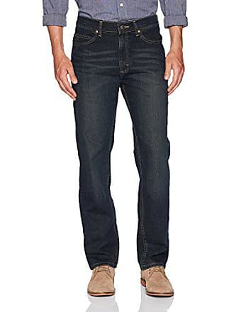 Lee Mens Relaxed Fit Straight Leg Jean, Inferno, 40W x 29L