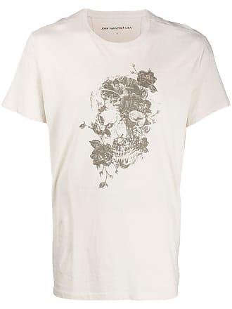 John Varvatos graphic print T-shirt - Neutrals
