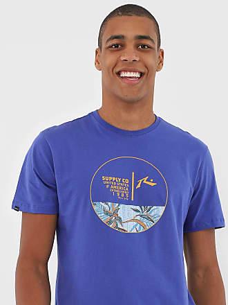 Rusty Camiseta Rusty Pool Party Azul