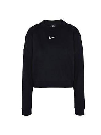 b394efae53 Nike DRY TOP LONG SLEEVES CREWNECK CROP - CAMISETAS Y TOPS - Sudaderas