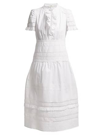Sea New York Lilli Lace Embellished Midi Dress - Womens - White