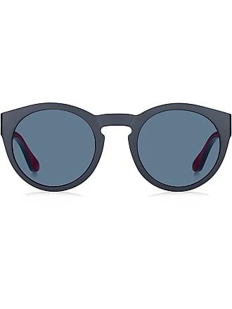 85be7a081e5 Tommy Hilfiger round sunglasses - Blue