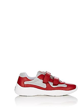93298ca71221 sweden prada mesh leather low sneakers for men black white 54f37 c6cb9