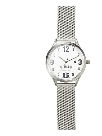 Vilebrequin Accessories - Metal Mesh Silver Watch - WATCHES - METMESH - Grey - OSFA - Vilebrequin