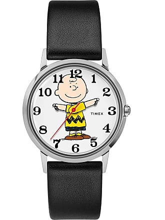 Timex X Peanuts Exclusively For Todd Snyder 34MM Leather Strap Watch