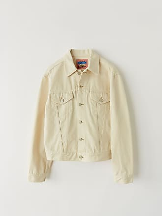 Acne Studios Acne Studios 1998 Ivory Ivory white Denim jacket