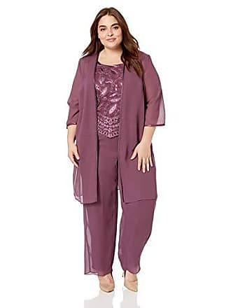 1c745a5ec5b Le Bos Womens Plus Size Embellished Embroidered Pant Set