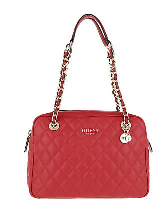 ed6357889e529 Guess Sweet Candy Shoulder Bag Red Tote rot
